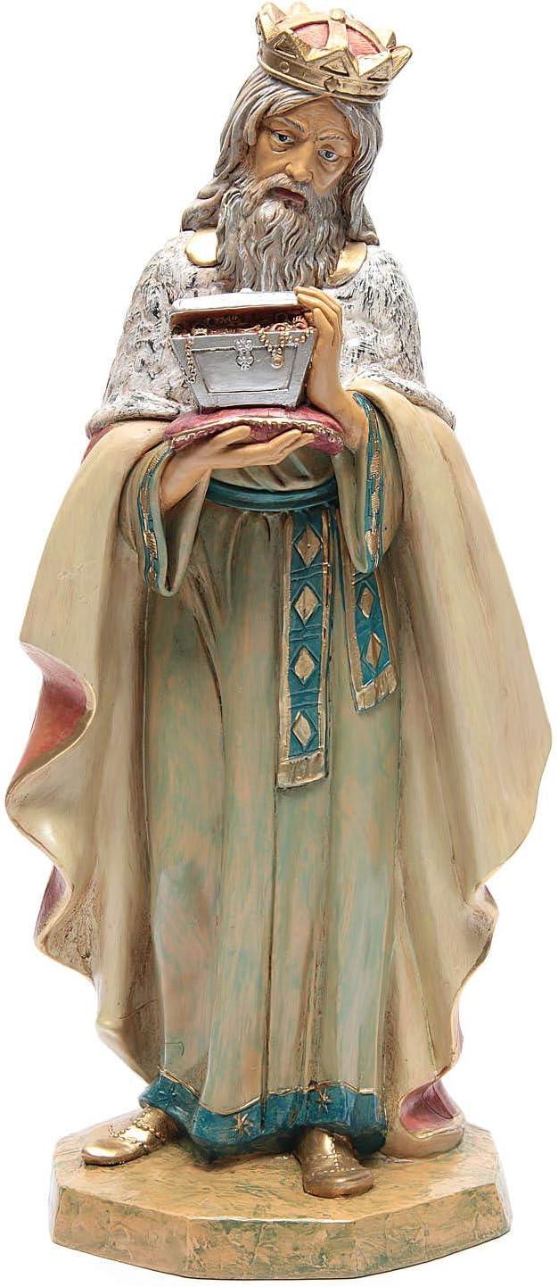 Mail order cheap Holyart Nativity Brand Cheap Sale Venue Scene White Wise cm 45 Man