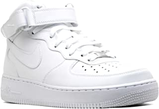 Air Force 1 Mid 07 White/White Mens Fashion Sneakers 315123-111