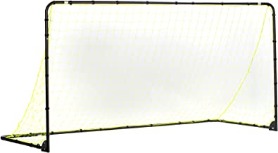 Franklin Sports Premier Steel Soccer Goal - Folding Backyard Soccer Goal with All Weather Net - Kids Backyard Soccer Net - Easy Assembly - 12'x6', 10x5', 6x4', 6'x3' Soccer Goal