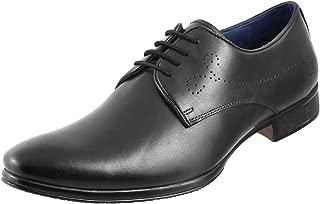 Metro Men's Black Leather Formal Shoes-6 UK/India (40 EU) (19-4347-11-40)