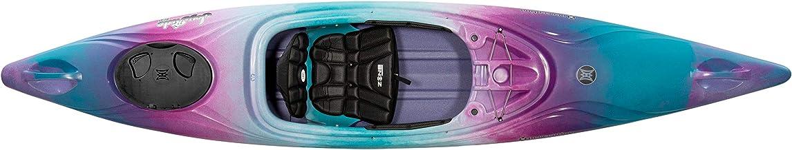 Perception Joyride 12 | Sit Inside Kayak with Selfie Slot and Cup Holder | Adjustable Padded Seat | Sealed Rear Storage | ...