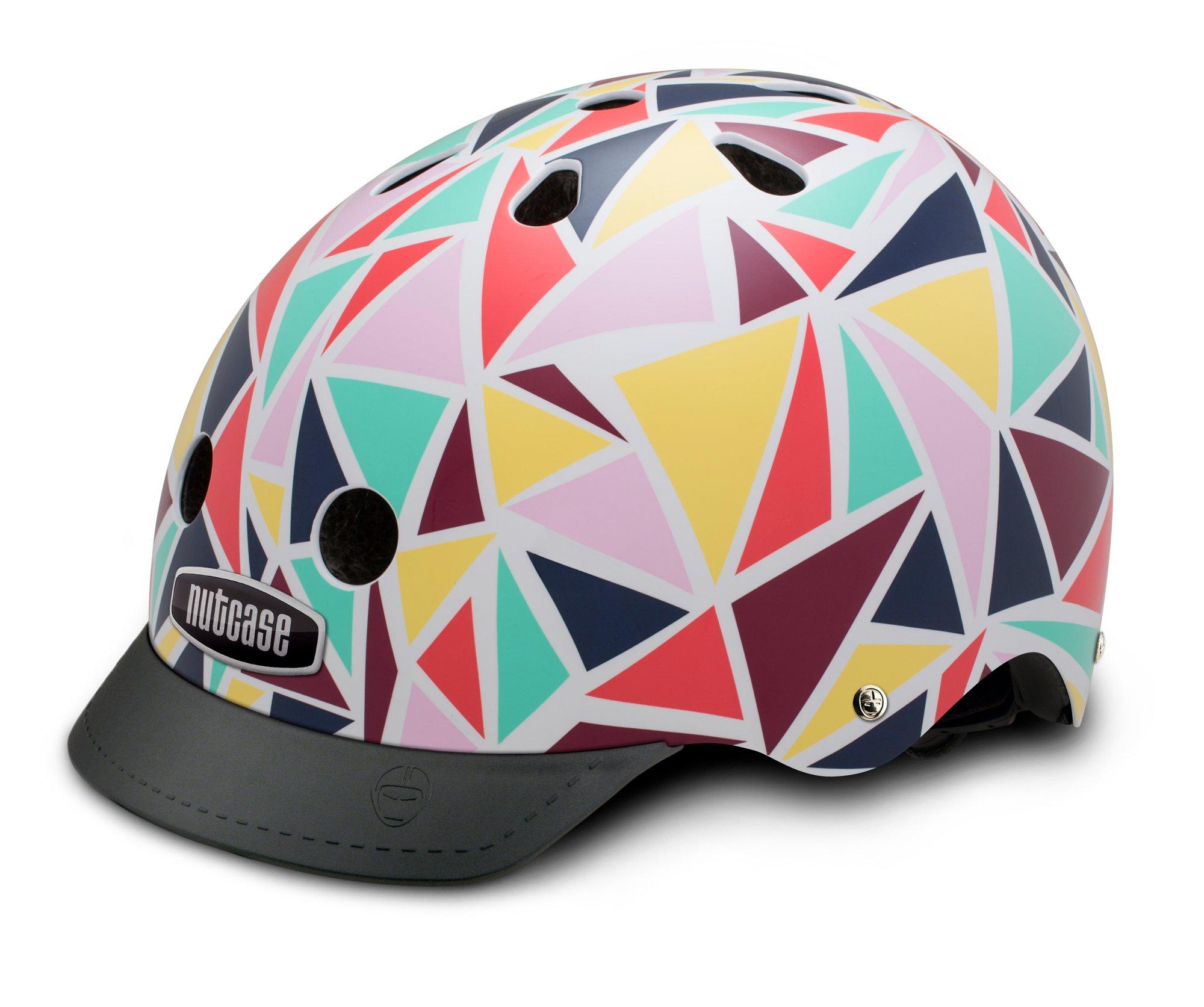 Nutcase Patterned Street Helmet Kaleidoscope