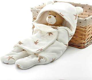 Eco Baby Planet™ Unisex Swaddle Blanket - Adjustable Sleeping Wrap 0-6 Month Infant Boy & Girl - Multifunction Receiving N...