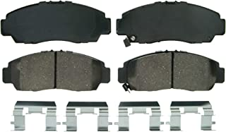 Wagner QuickStop ZD787 Ceramic Disc Pad Set Includes Pad Installation Hardware, Front