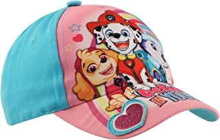 Nickelodeon Toddler Hat, Paw Patrol Kids Baseball Cap for Girls Ages, Blue/Pink, Age 2-4