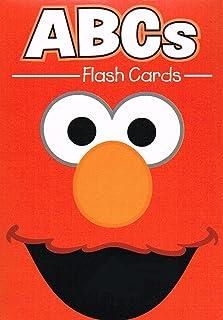 Sesame Street Educational Flash Cards ABCs