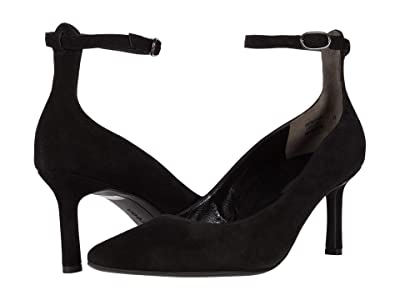 Paul Green Christa Pump (Black Suede) Women