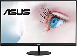 "ASUS VL279HE 27"" Eye Care Monitor, 1080P Full HD (1920 x 1080), IPS, 75Hz, Adaptive-Sync, FreeSync, HDMI D-Sub, Frameless,..."