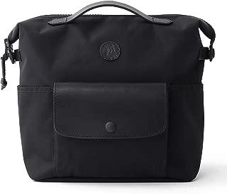 Practico Arte. hge Brompton Front Mini Bag(with Frame) Black, Hge Minibag, Handmade in Seoul, Korea