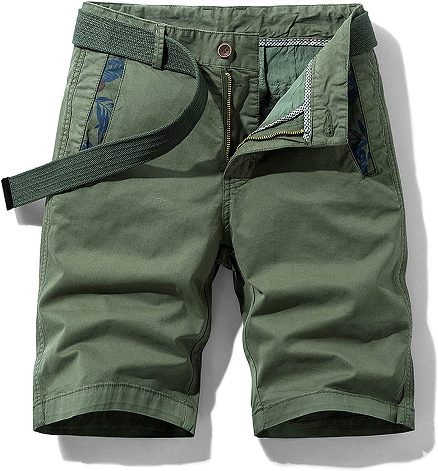 Dellk New Mens Military Cargo Shorts Army Camouflage Tactical Men Cotton Loose Size Work Casual Short Pants
