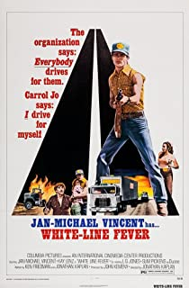 Posterazzi White Line Fever Us Art with Gun: Jan-Michael Vincent 1975 Movie Masterprint Poster Print, (11 x 17)