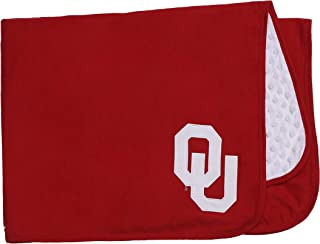 NCAA University of Oklahoma Baby Blanket for Boy or Gir Red