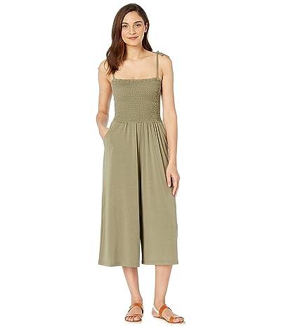 Jack by BB Dakota One-Piece Wonder Knit Jersey Jumpsuit (Field Green) Women