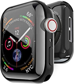Apple Watch Case 44mm Iwatch Screen Protector Series 4 with Built-in TPU Screen Protector High Definition Clear Ultra-Thin Cover for Apple Iwatch 44mm Series 4