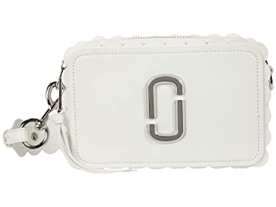 Marc Jacobs The Softshot 21 Crossbody (White) Handbags