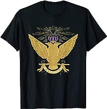 Mens 33rd Degree Mason T Shirt Masonic Tee Scottish Rite Up