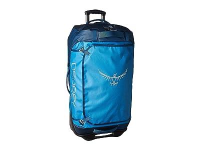 Osprey Transporter Wheeled Duffel 90 (Kingfisher Blue) Bags