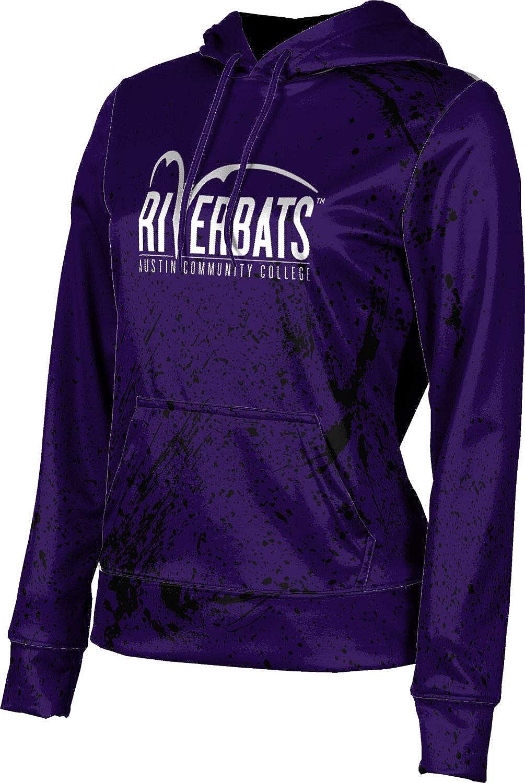 ProSphere Austin Community College Girls' Pullover Hoodie, School Spirit Sweatshirt (Splatter)