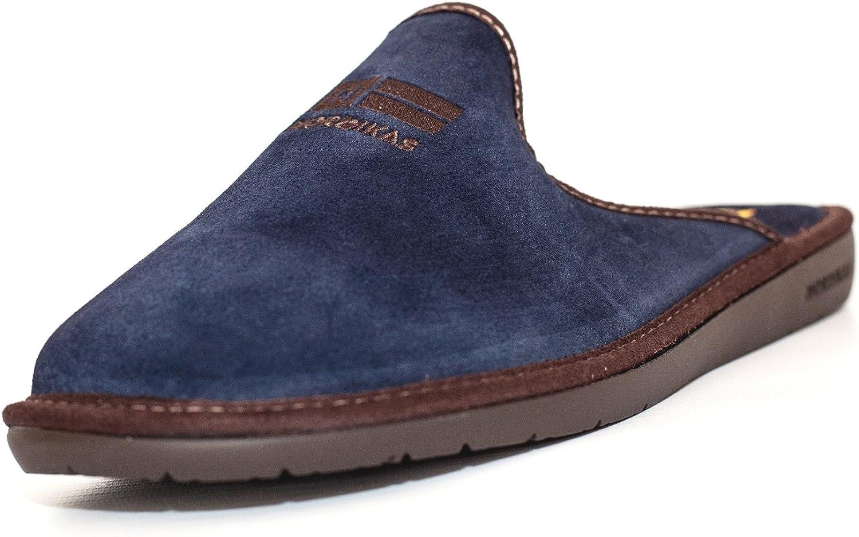 Top Line Navy Men's Slippers
