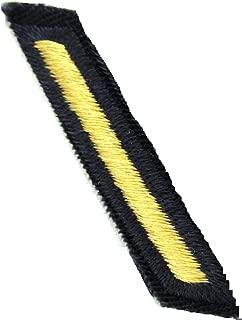 Army Service Stripe - Gold on Blue