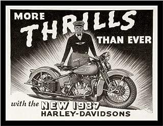 harley davidson magazine ads