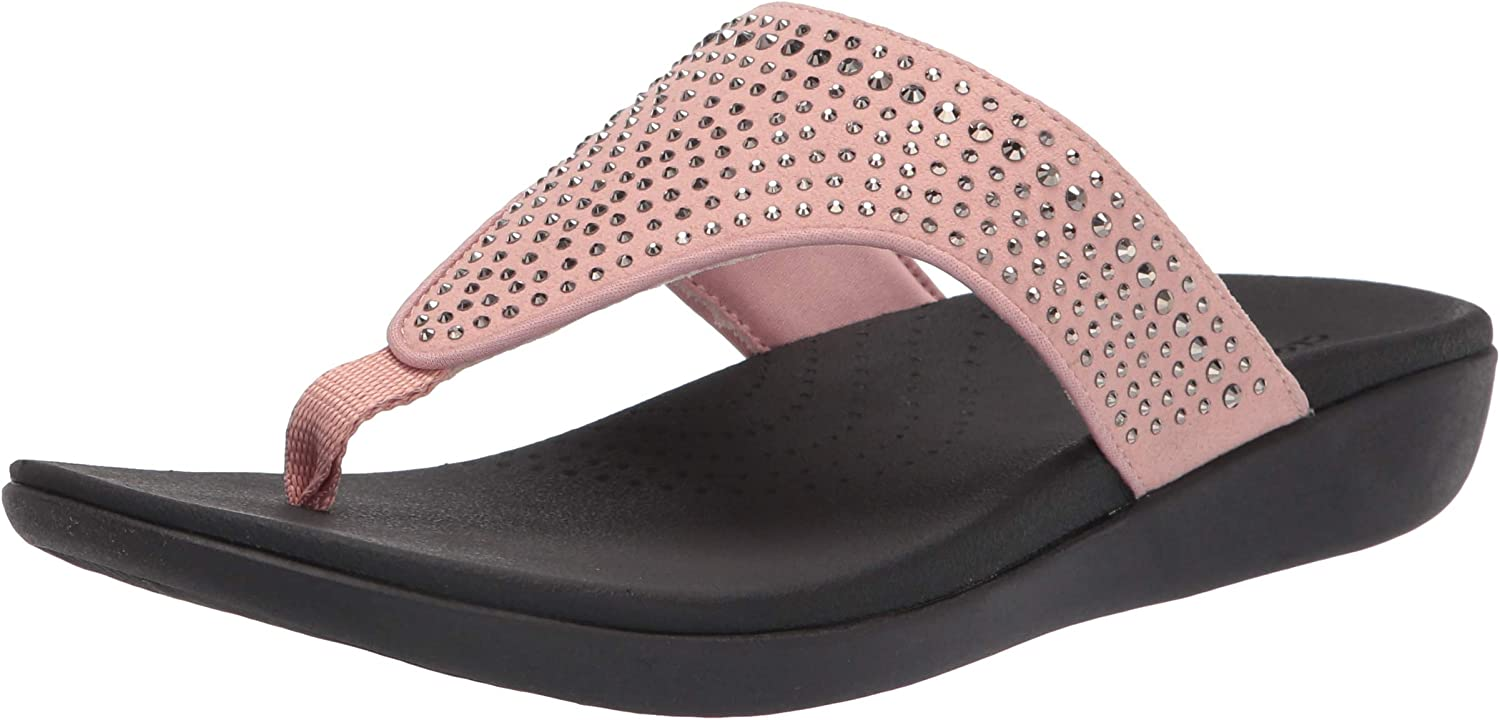 Clarks Women's Boston Mall Brio Special price for a limited time Flip-Flop Vibe