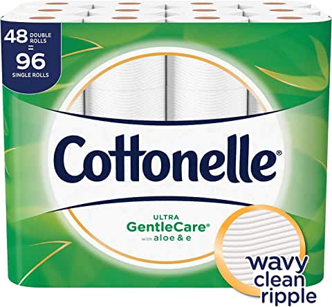 48-Pack Cottonelle Ultra GentleCare Toilet Paper Double Roll
