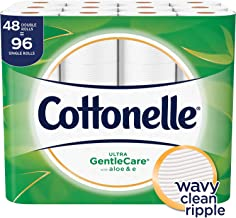Cottonelle Ultra GentleCare Toilet Paper, 48 Double Rolls