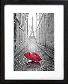 402a5bf2268 9x12-inch Black Frame - Made to Display Pictures 6x8-inches with Matte or