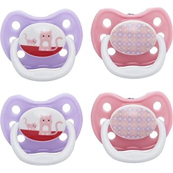 6 to 12 Months, Pink, Pack of 2 Dr Brown/'s Prevent Soother