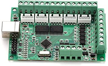 MACH3 USB Interface CNC Motion Control Card Breakout Board Controller with Strong Anti-Interference Ability