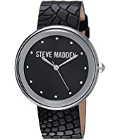 Steve Madden - Animal Print Leather Watch