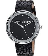 Steve Madden - Animal Print Leather Watch