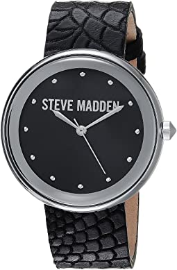 Animal Print Leather Watch