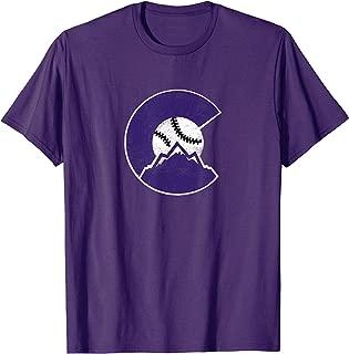 Colorado Rocky Mountain Baseball Sports Team T-Shirt