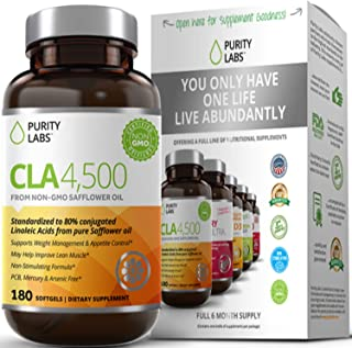 cla safflower oil weight loss by Purity Labs