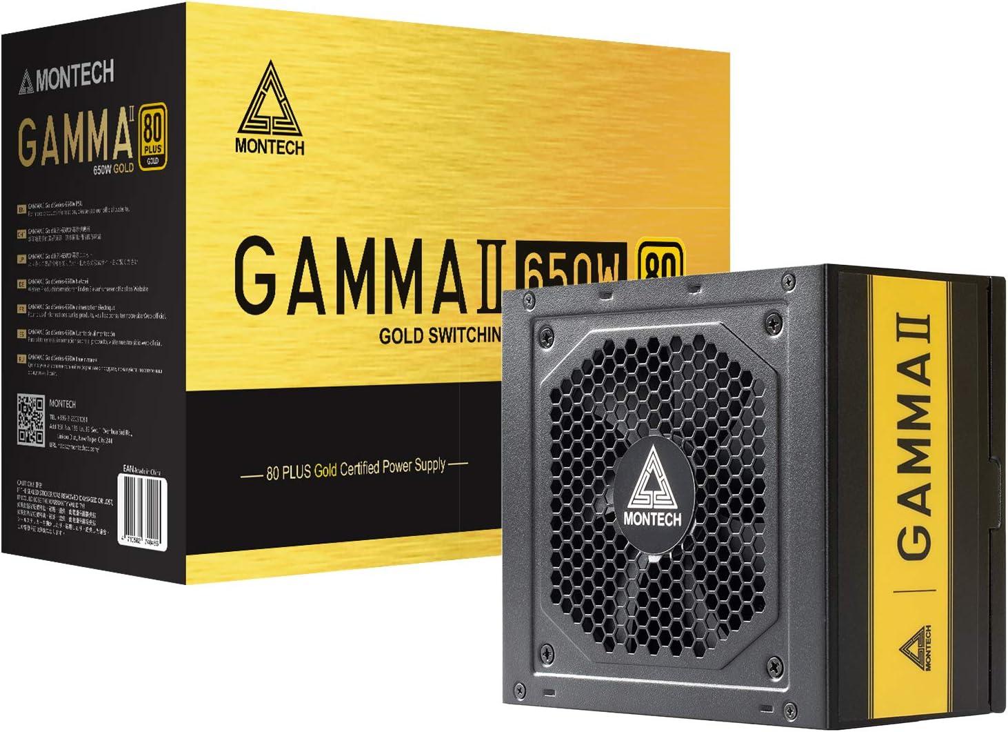 Montech Gamma II Series 650 Watt 80+ El Paso Mall Supply Certified Gold Quantity limited Power