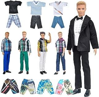 Best boy barbie doll clothes Reviews