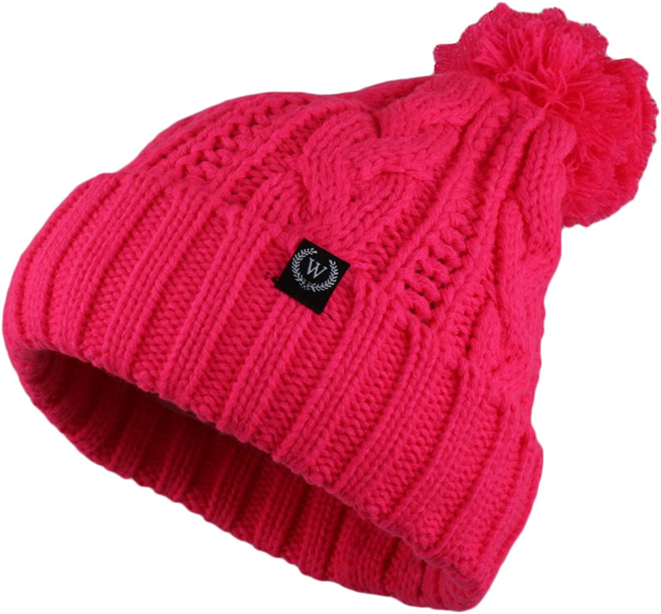 Wonderful Fashion Trendy Winter Warm H Cable Soft New popularity Memphis Mall Beanie Knitted