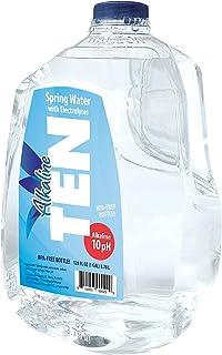 TEN Alkaline Spring Water, pH 10, High in Electrolytes - 1 Gallon