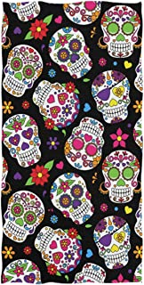 Best day of the dead bath towels Reviews