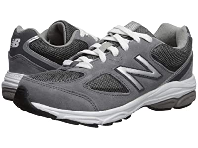 New Balance Kids GK888v2 (Big Kid) (Dark Grey/Grey) Boys Shoes