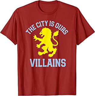 Aston Soccer Jersey Villa English City Birmingham Gift T-Shirt