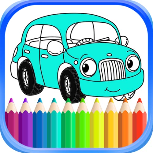 Best Coloring Book Car For Kids