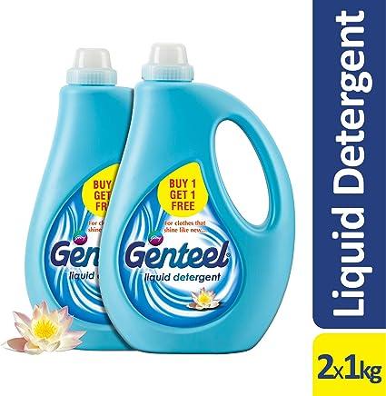 Godrej Genteel Liquid Detergent - Pack of 2 (1kg+1kg)