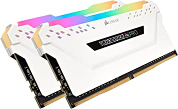Corsair CMW32GX4M2C3200C16W VENGEANCE RGB PRO 32GB (2x16GB) DDR4 3200 (PC4-25600) C16..