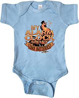 Rooster Funny Farm Alarm Infant Creeper