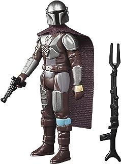 Star Wars Retro Collection The Mandalorian (Beskar) Toy 3.75-Inch-Scale The Mandalorian Collectible Action Figure, Accesso...