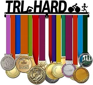 Believe&Train Tri Hard - Triathlon Medal Hanger