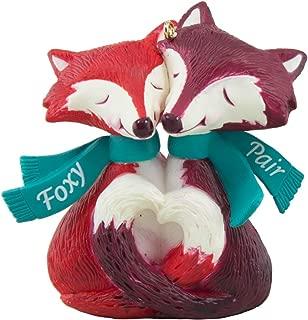 Hallmark Foxy Pair Cute Couple Ornament